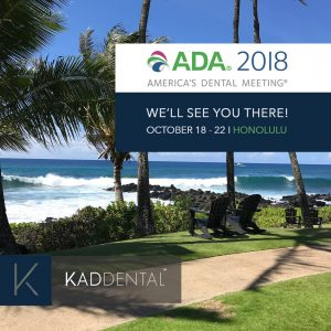 KAD Dental : Exhibitors at ADA Meeting 2018