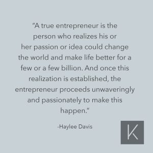 Characteristics of a True Entrepreneur