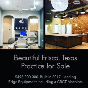 Frisco, Texas Dental Practice For Sale