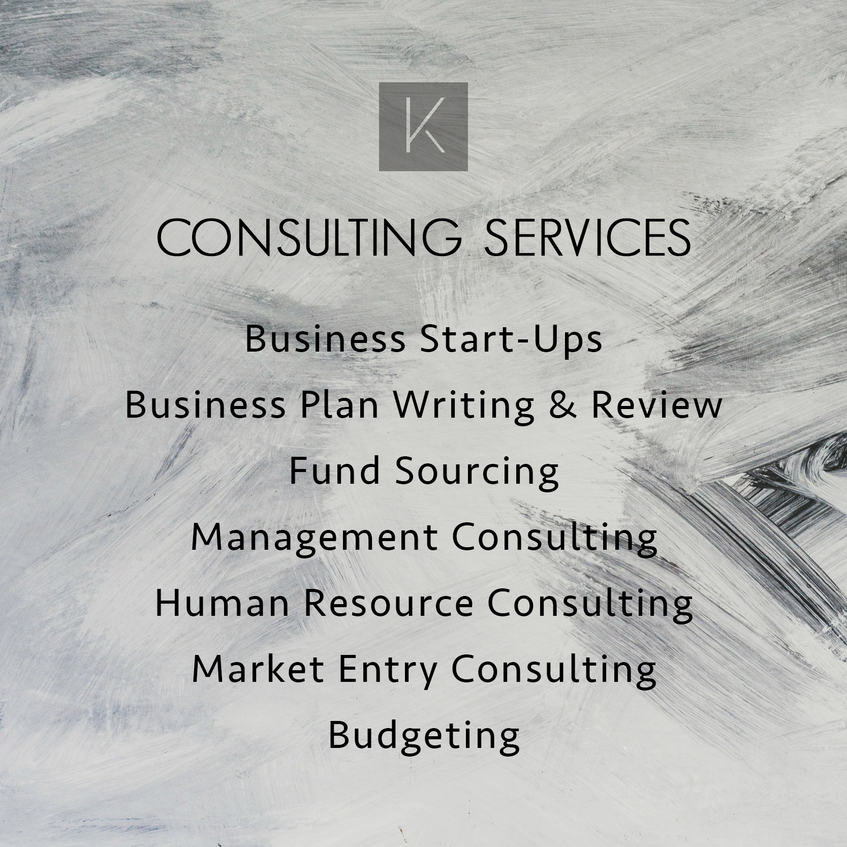 Our Consulting Services